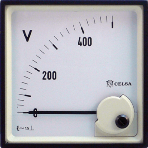 MKE CELSA Analog meter AC