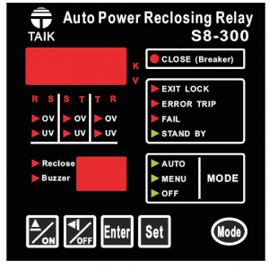 UV/OV and reclosing relay