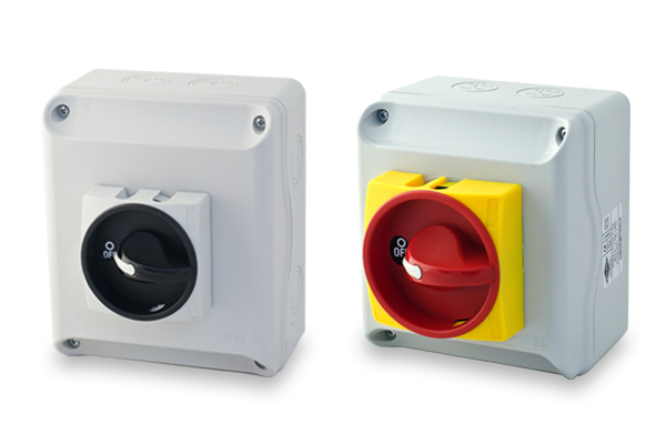 Enclosed disconnector switches