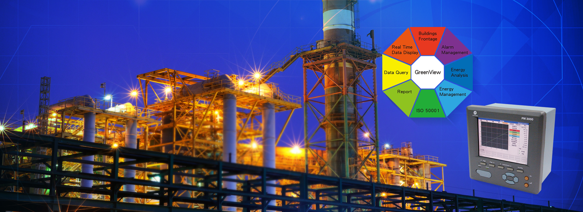 Your Best Partner of Energy Management Solution provides sophisticate analysis in energy management