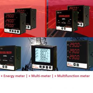 Đồng hồ kỹ thuật số tủ điện Newtek